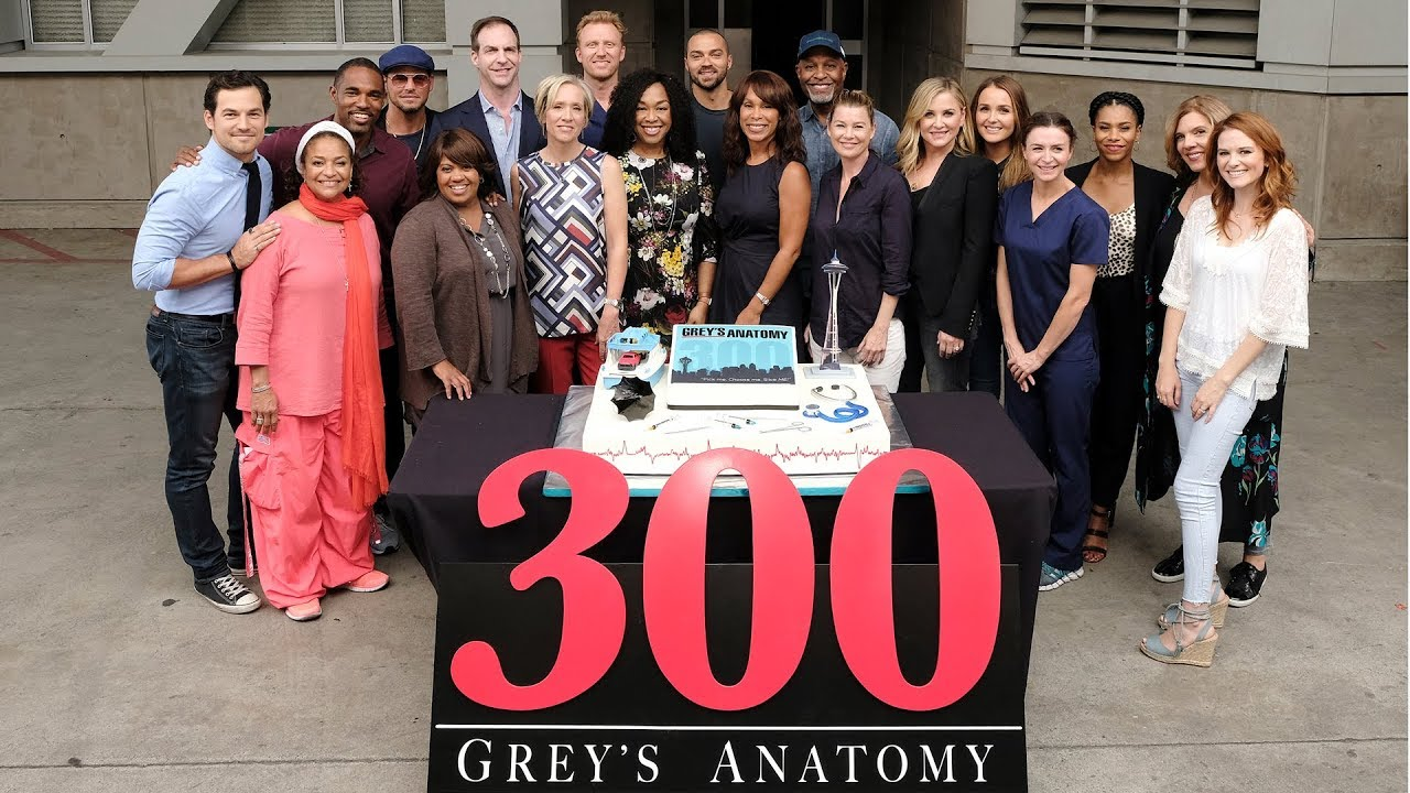 Greys Anatomy Episode 300 Interview Youtube