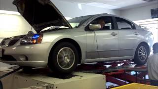 2004 Galant Dyno-4G69, no tune-138 whp, 142 ft lbs
