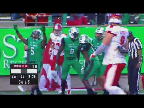 Marshall Highlights vs Miami (OH) Football 2017