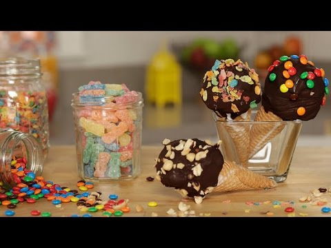 How to Make DIY Nestle Drumstick Ice Cream Cones   Get the Dish