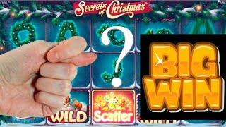 10 FREE SPINS SECRETS OF CHRISTMAS slot #5