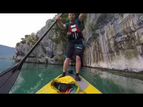 SUP au Roc de Chère Lac d'Annecy