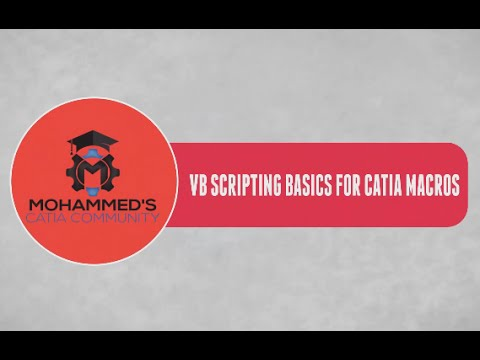 Catia V5 Automation Tutorials|VB Scripting & Macros for Beginners|Inputbox