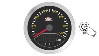 Tutorial: das Einstellen des neuen SIP Tacho / Drehzahlmesser 2.0 für Vespa / Lambretta