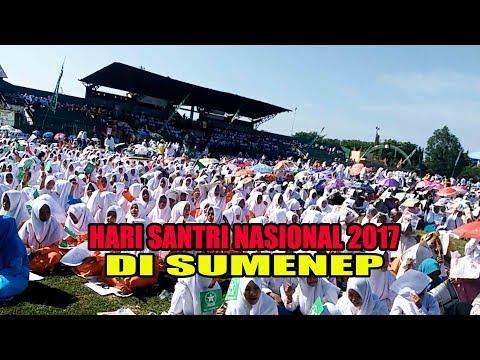 Hari Santri Nasional 2017 di Sumenep Full
