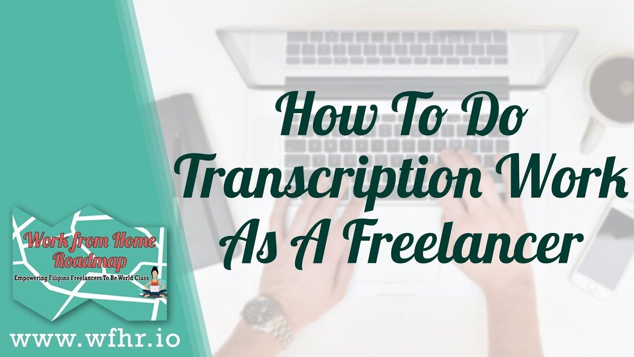 How to do transcription work as a freelancer jaslearnit youtube how to do transcription work as a freelancer jaslearnit xflitez Image collections