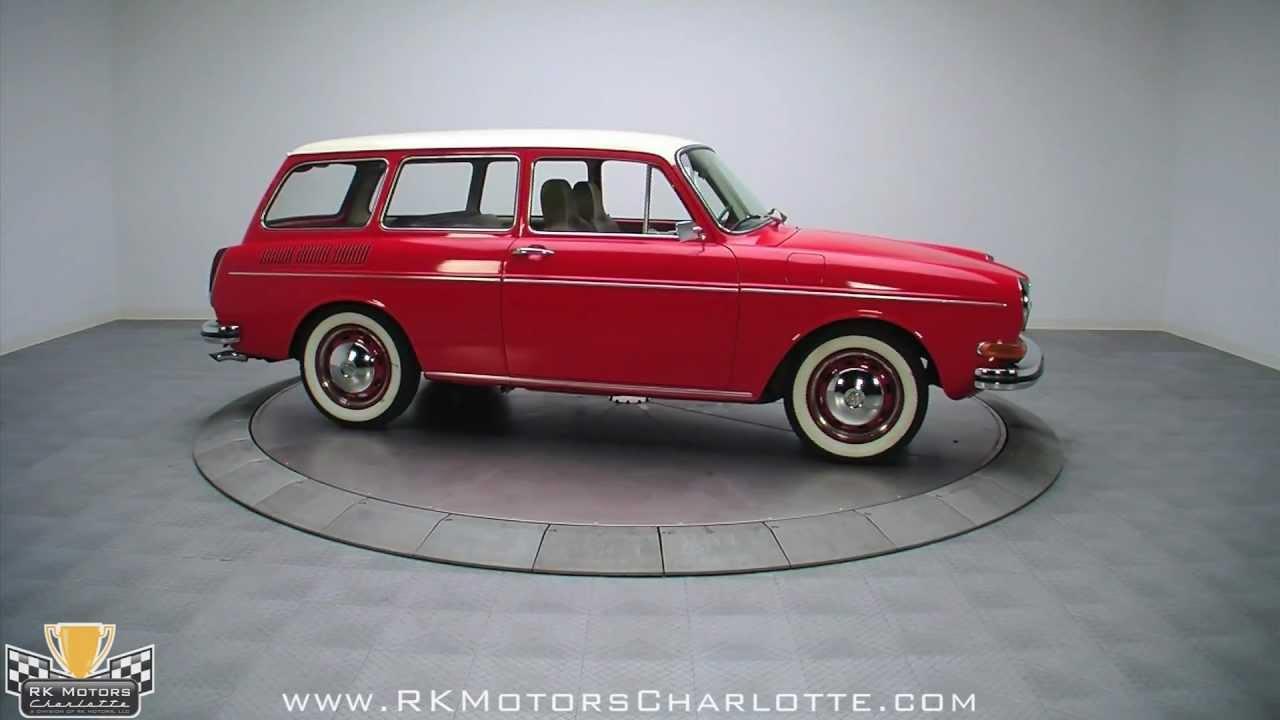 132542 / 1971 Volkswagen Type 3 Squareback