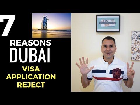 7 REASON YOUR DUBAI VISA APPLICATION MAY BE REJECTED | DUBAI VISA RULES 2018 |TRAVEL TRICKS