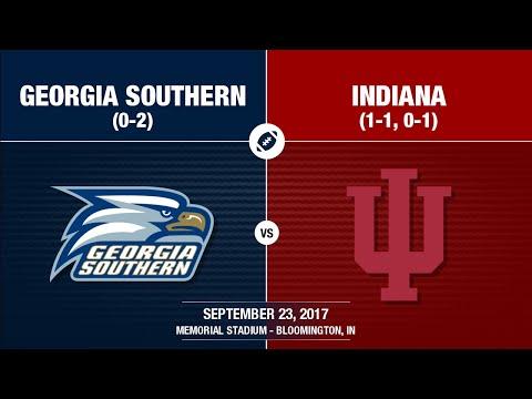 2017 Week 4 - Georgia Southern at Indiana