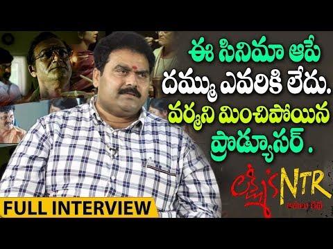 Lakshmi's Ntr Movie Producer Rakesh Reddy Exclusive Interview | RGV | #NTRTrueStory | i5 Network