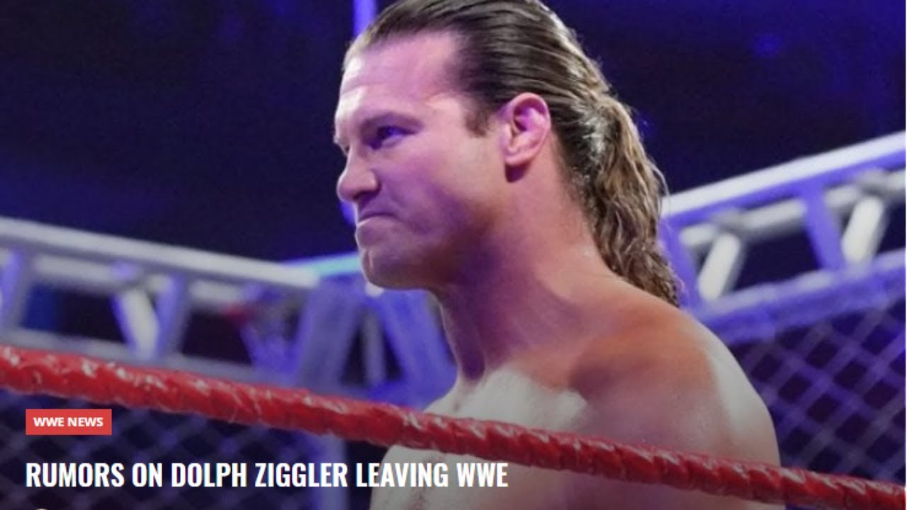 did dolph ziggler leave wwe