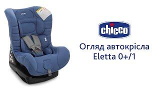 Автокресло Eletta 0+/1(Автокресло Eletta предназначено для детей от рождения до 18 кг. Устанавливается против хода движения (до 13 кг)..., 2015-09-29T10:32:19.000Z)