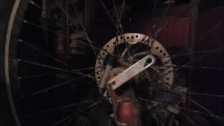 видео спидометр для велосипеда механический