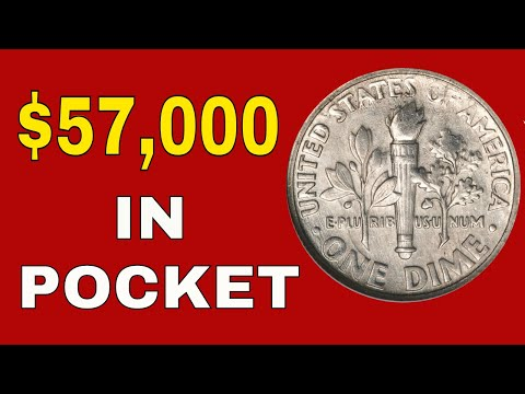 1990's Dimes You Should Know About! Roosevelt Dimes Worth Money!