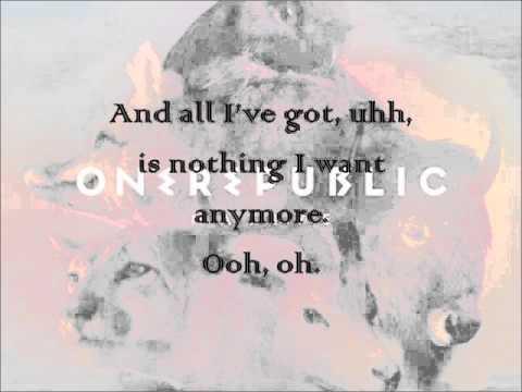 Can't Stop - OneRepublic Full Lyrics (New Song 2013)