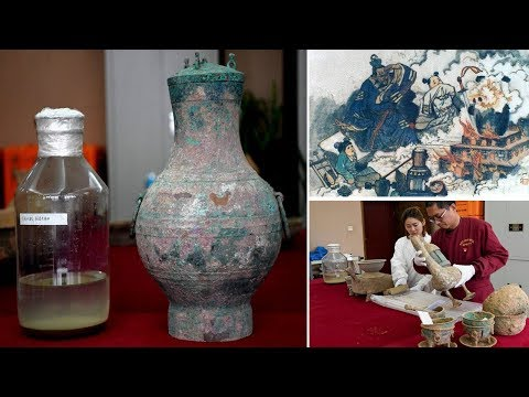 Rare 'elixir of immortality' recovered from ancient Chinese tomb