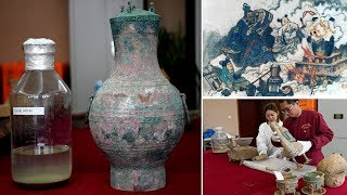Archaeologists Discovered 2000 Year Old 'Elixir' Belong To Han Dynasty