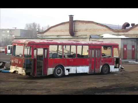Списанные автобусы г. Пенза (Апрель 2011)