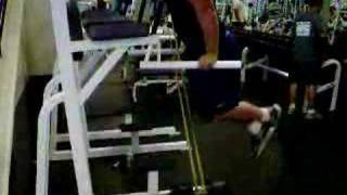 Weighted dips with bands and resistance