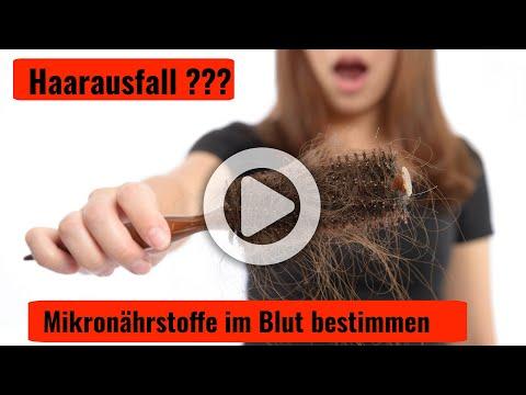 Haarausfall ?? Welche Blutwerte und Mikronährstoffe sollten untersucht werden
