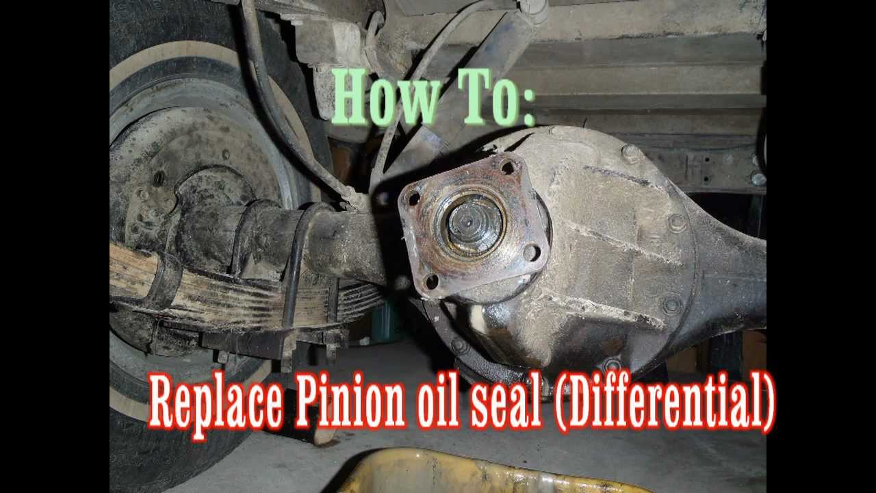 how to fix rear differential noise