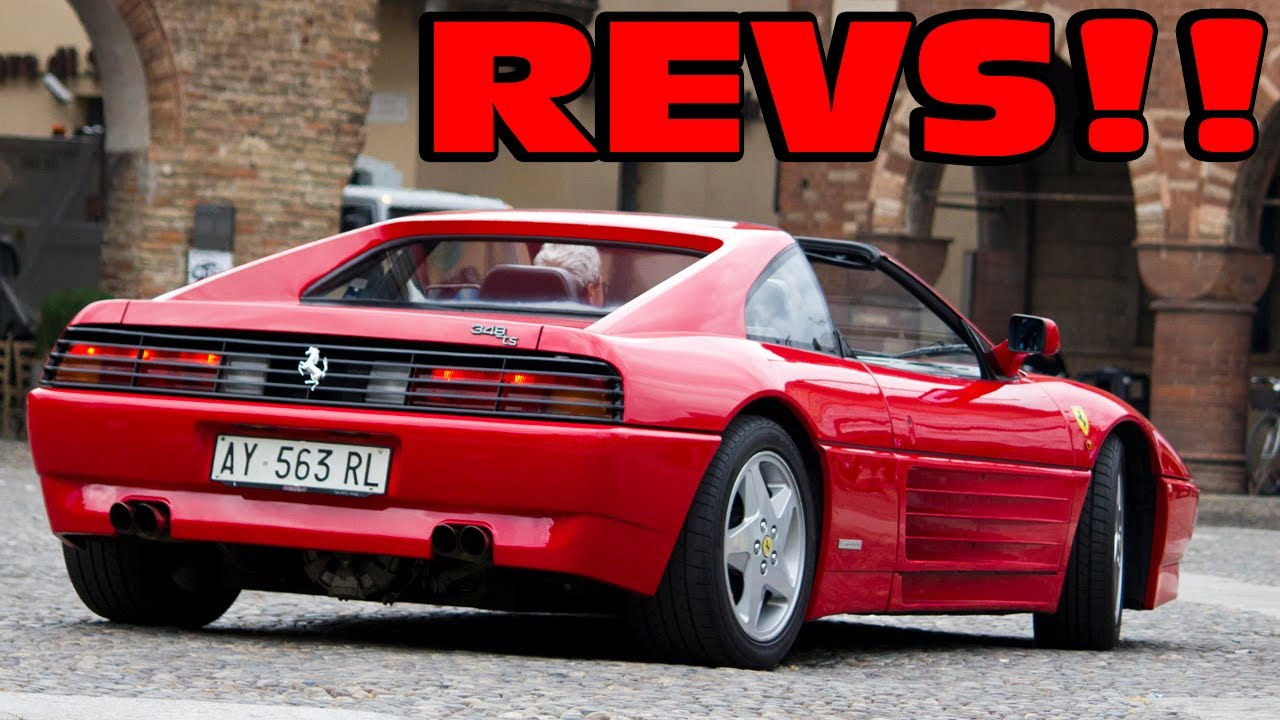 Ferrari 348 TS - Revs & Nice Sound!!! - YouTube