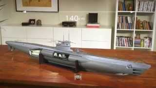 U-Boat U96 - Découvrez et construisez un sous-marin de légende!