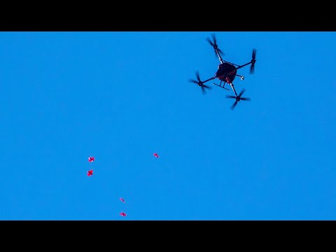It's Raining Drones! NASA drops 100 drones tiny enough to fit in your hand