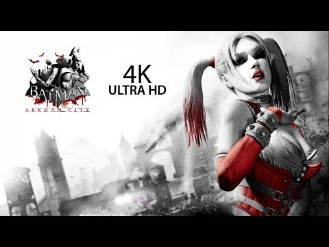 4K Batman Arkham City Gameplay Part #2 GTX 1080TI No Commentary classic games