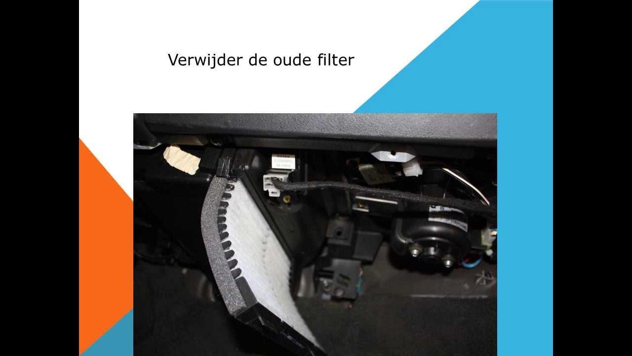 Volvo S40 en V40 Interieurfilter vervangen Pollenfilter vervanging - YouTube
