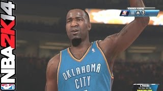 Nba 2k14 Online Ranked| Oklahoma Thunder Vs Knicks| Play With Every Team Ep.1| Live Commentay