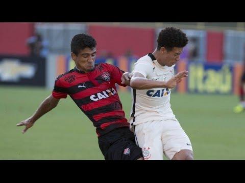 Gols: Vitória 3x2 Corinthians - Campeonato Brasileiro 22/05/2016