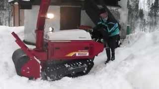 Schneefräse Snowblower YAMATSU SD 1122 - toolrent Maschinenhandel