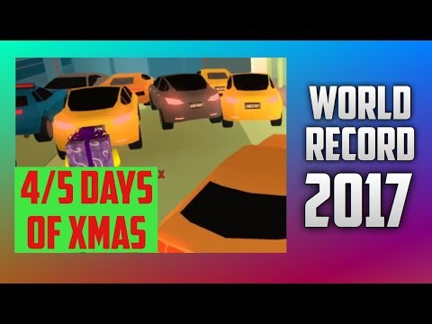 *WORLD RECORD* MOST CARS INTO JAILBREAK BANK