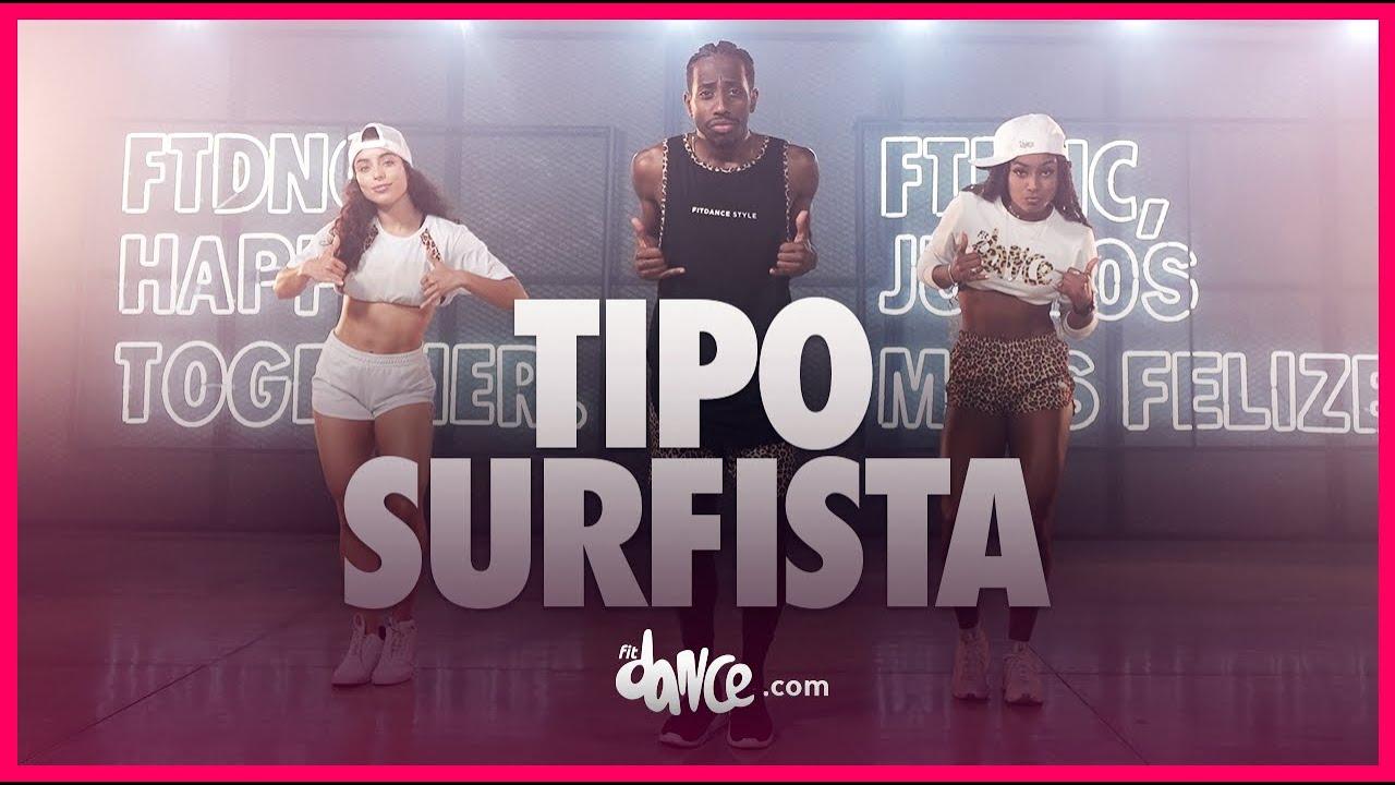 Tipo Surfista - DJ Cleitinho e Mc Menor MT | FitDance (Coreografia) | Dance Video