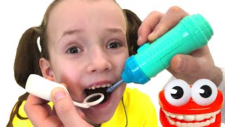 Dentist Song | 동요와 아이 노래  어린이 교육 Ulya Liveshow