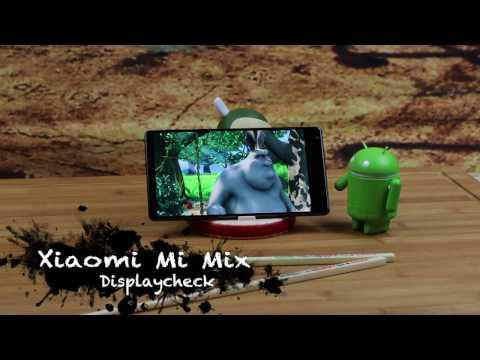 Xiaomi Mi Mix - Displaycheck