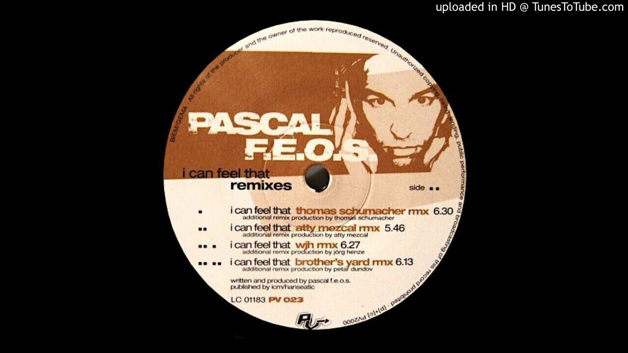 Download Pascal F.E.O.S. - I Can Feel That ( Brothers Yard Remix )