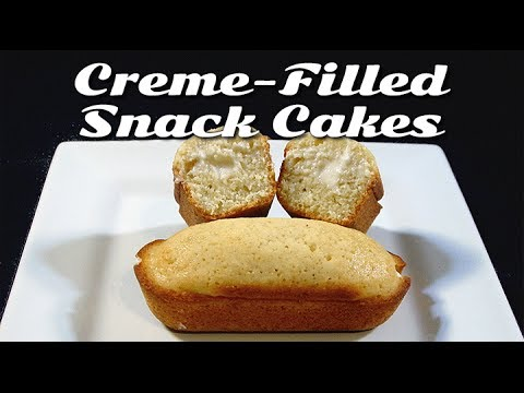 Diabetic-Friendly Creme Filled Snack Cakes
