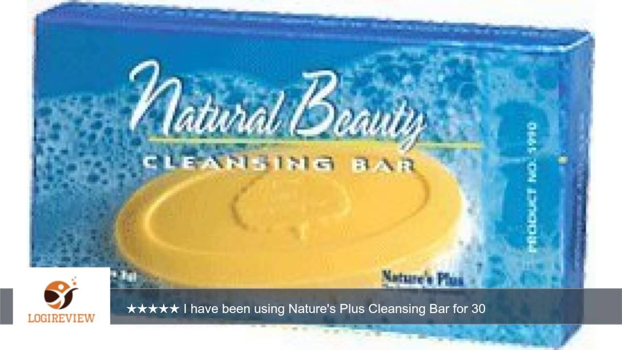 Beauty Cleansing Bar Natures Plus 3.5 oz Bar Revlon Photo Ready Skinlights Face Illuminator - Bare Light - 1 Oz + Schick Slim Twin ST for Dry Skin