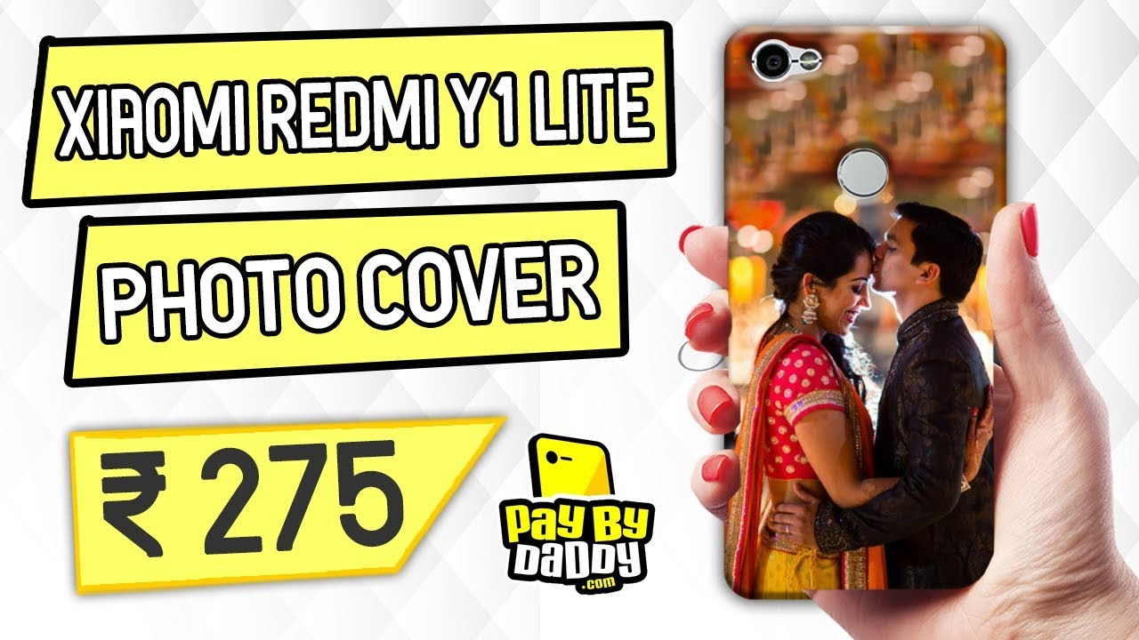Customized Xiaomi Redmi Y1 Lite Mobile Phone Covers & Back Covers With Your  Text & Photo
