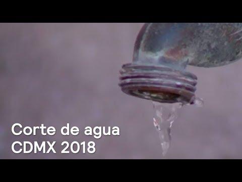 Corte de agua CDMX 2018; fechas y alcaldías. Despierta con Loret
