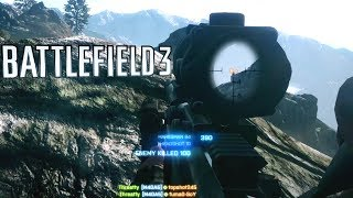 ACOG SNIPER | Battlefield 3: Rush Gameplay [60fps]