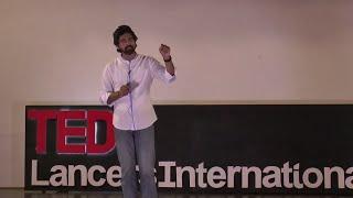 The art of storytelling   Gatik Chaujer   TEDxLancersInternationalSchool