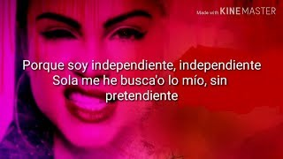 Natti Natasha - Independiente (Letra)