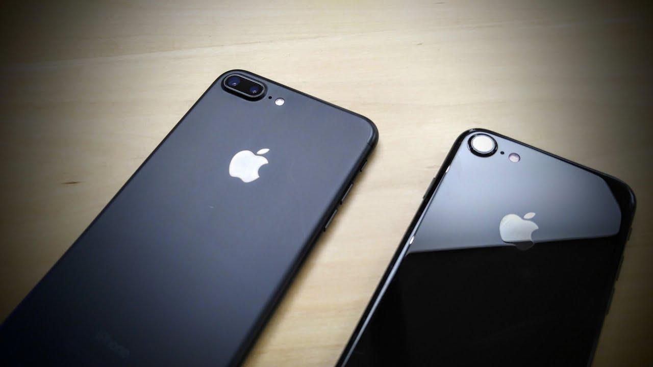 Iphone 7 Plus Jet Black Vs Matte