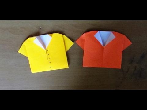 Origami Paper Crafts Origami Paper Folding Craft Origami T Shirt