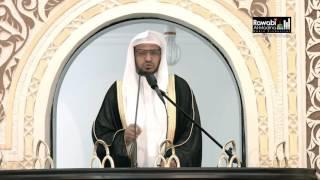 خطبة الجمعة 6-1-1438 للشيخ صالح المغامسي من جامع حسن شطه بالمدينة المنورة