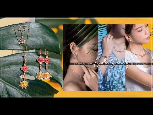 Exotic Jewelry:「20歲是剔透的水晶、30歲煉成黃金,到40歲仍像鑽石般閃耀」,盛夏讓揉入異國風的配飾成為護身符