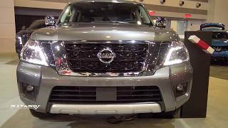 2018 Nissan Armada Platinum Reserve - Exterior And Interior Walkaround - 2018 Ottawa Auto Show